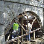 Technicians at Jefferson Bridge Rehabilitation Job