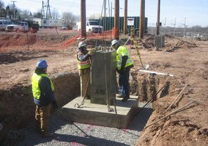 Technicians Upgrading Barbour Hill Substation
