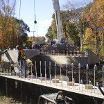 Emergency Bridge Construction Site