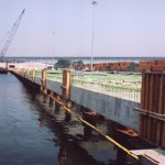 New Pier Installation in Process