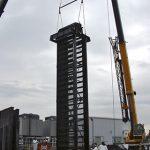 cranes standing large machine upright in Bridgeport, CT