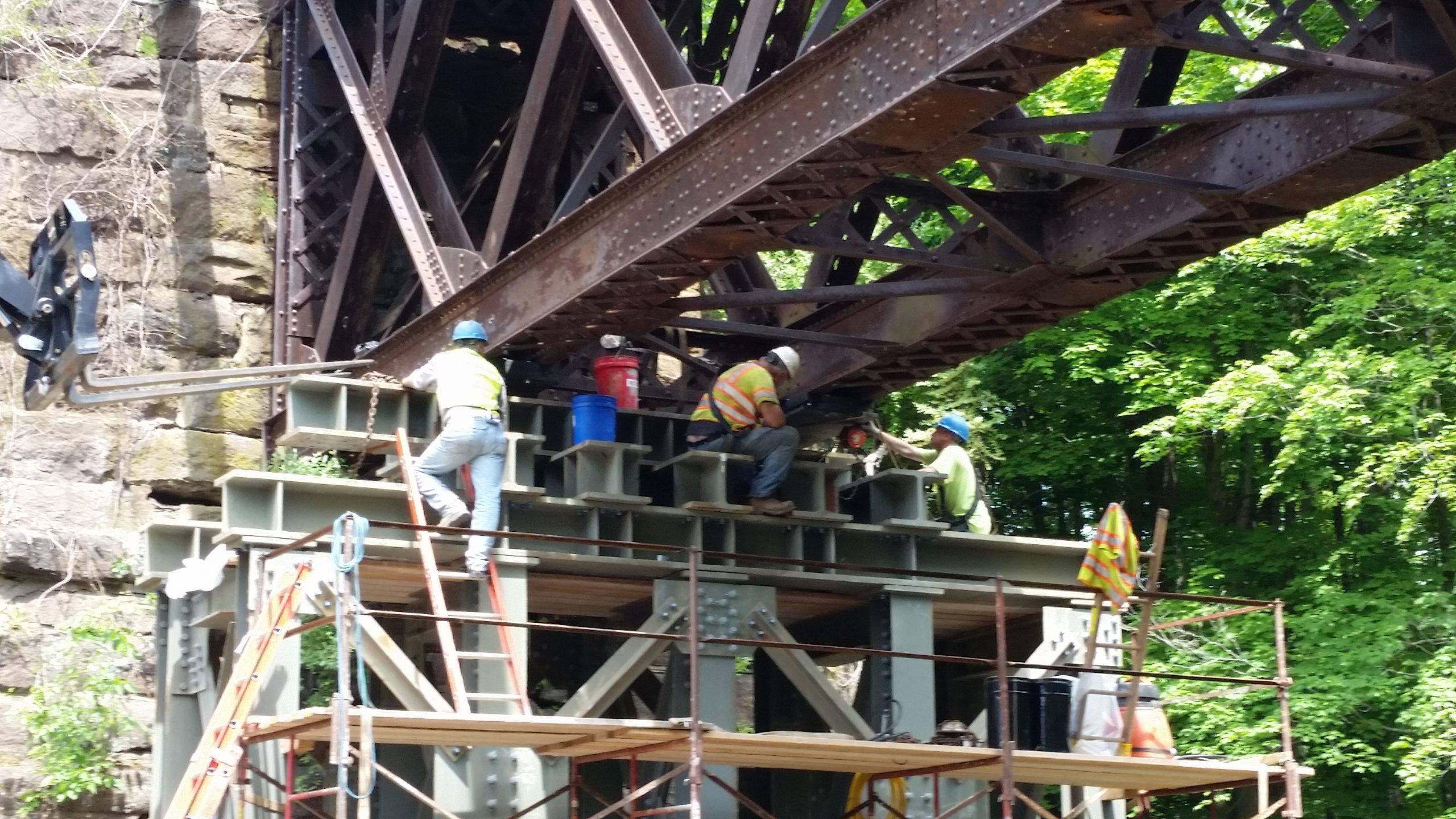 Bridge Foundation Installation Project